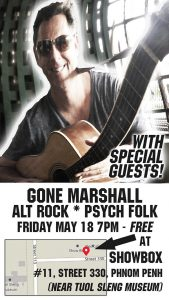 Gone Marshall plays Showbox, Friday May 18, 2018 at 7:30 PM
