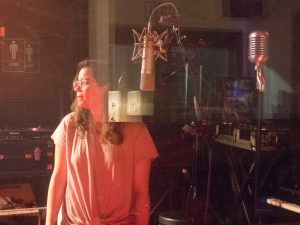 Florida, USA: Spanish language vocal session for 'Bad Guys', an original indie pop song by Gone Marshall