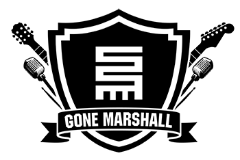 Logo for Gone Marshall: Singer-Songwriter * Musician * Producer