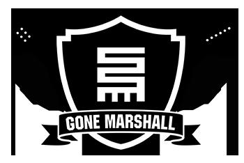 Logo for Gone Marshall: Singer-Songwriter * Musician * Producer