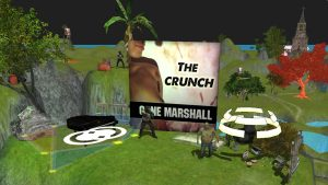 'The Crunch Rock n' Roll Album FPS Game by Gone Marshall'